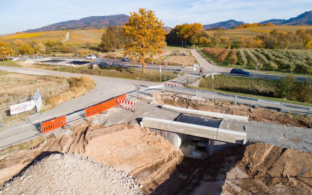 HRB 6 und Ausbau Grünbach in Baden-Baden-Steinbach