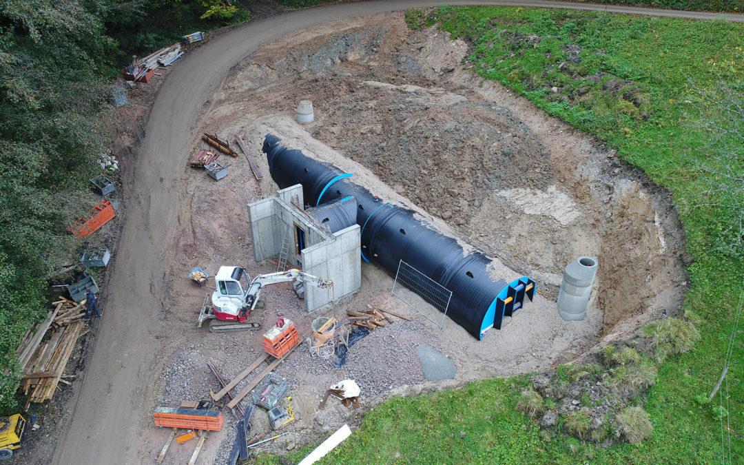 Neubau Trinkwasserhochbehälter (HB) Besenstiel, Kappelrodeck