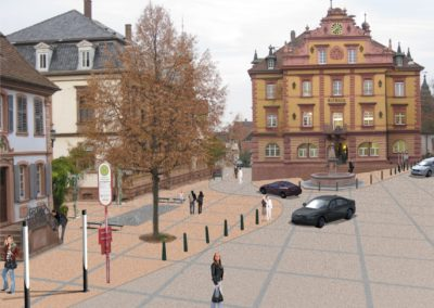 Umgestaltung der Hauptstraße mit Rathausplatz, Herbolzheim